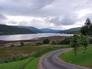 Picture of the view over Loch Sunart