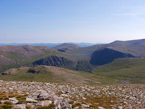 Picture of a view in the Cairngorm mountains