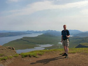 Picture of me on The Storr