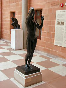 Picture of sculptures by Rodin