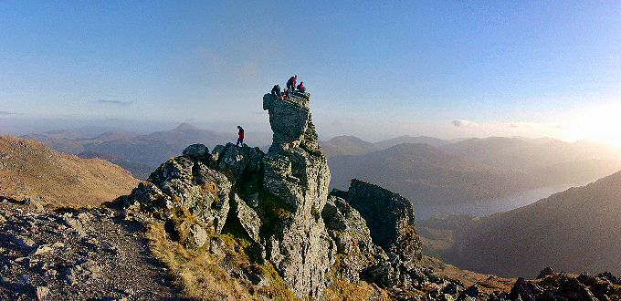Picture of the summit of The Cobbler