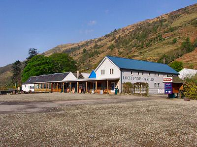 Picture of Loch Fyne Oyster Bar and the car park