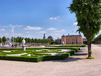 Picture of the Schlossgarten Schwetzingen