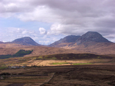 Picture of the Paps of Jura