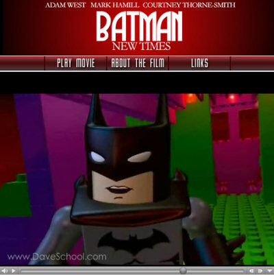 Screenshot of the Lego Batman movie