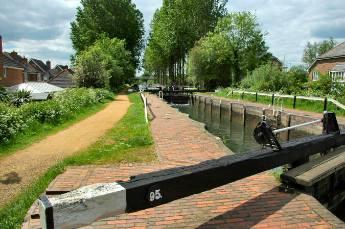 Picture of a canal lock