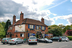 Picture of a country pub, the Bladebone Inn